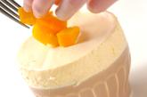 マンゴーのスフレグラッセの作り方11