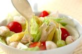 マッシュルームのサラダの作り方2