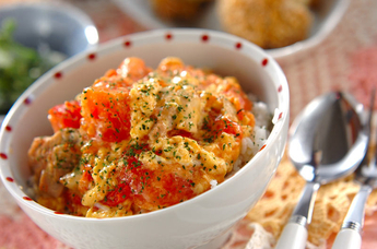 トロトロトマト丼