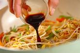 豆モヤシのペッパー炒めの作り方2