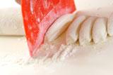 ころころお肉とお芋の焼き餃子の作り方3