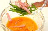 カラフル卵焼きの作り方2
