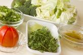 野菜のネギ豚ソースの作り方2
