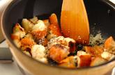 手作りクルトンのシーザーズサラダの作り方1