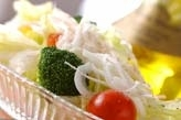 ひんやりグリーンサラダ