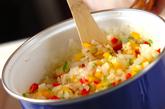 塩サバのトマト煮の作り方1