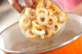 ちくわとレンコンのみそ汁の作り方2