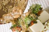 キムチやっこサラダの作り方3