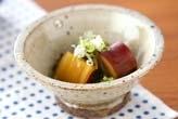 サツマイモと昆布の煮物