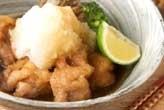 鶏肉の揚げ煮おろしのせ