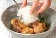 鶏肉の揚げ煮おろしのせの作り方4