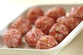 肉団子のオイスターあんの作り方1