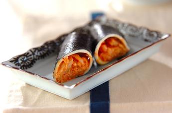 マヨキムチーズ巻き