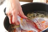 連子鯛の煮付けの作り方1