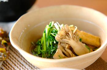 水菜のサッと煮