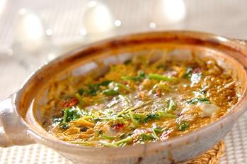 ウナギの柳川煮