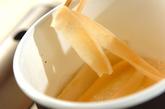 カンピョウの巻き寿司の作り方2