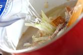 牛肉入りトマトスープの作り方2