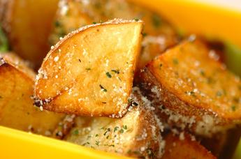 チーズフライドポテト