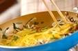 モヤシの卵とじの作り方2