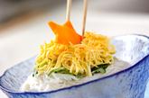 七夕のお素麺の作り方4