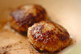 ハッピーガールハンバーグ弁当の作り方1