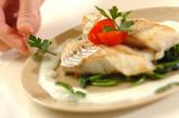 お魚のムニエル・白いソースの作り方5