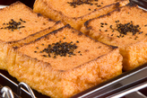 厚揚げステーキ・きのこ添えの作り方1