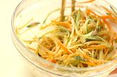 モヤシのサラダの作り方1