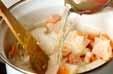 具だくさんの白いスープの作り方1