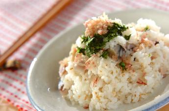 しめサバの混ぜ寿司