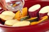 温サラダ ガーリック風味のゴマドレッシングの作り方8