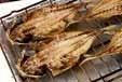 焼き魚(かますの干物)の作り方1