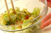 パリパリヘルシーサラダの作り方3