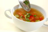 オクラとトマトのスープの作り方3