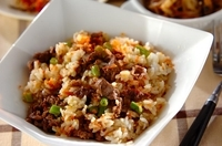 牛肉のサッパリ黒酢チャーハン