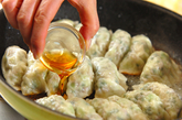 大きなキャベツ餃子の作り方4