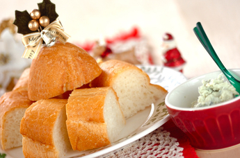 パンとチーズバター