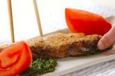 魚のムニエル・バジルソースの作り方2