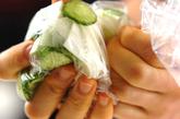 カブとキュウリのあっさりサラダの作り方1