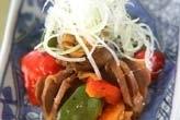 砂肝のコリコリ炒め