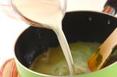 フルフル抹茶豆乳デザートの作り方2