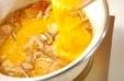 豆腐の卵とじの作り方2
