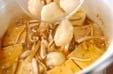 豆腐の卵とじの作り方1