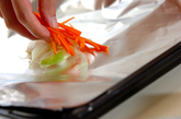 魚のホイルバター焼きの作り方1