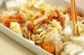 白菜のナメコ和えの作り方2