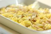 白菜のナメコ和えの作り方1