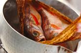 メバルとワカメの煮付けの作り方1