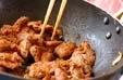 レバニラ炒めの作り方2