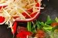 レバニラ炒めの作り方3